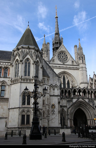 Royal Courts of Justice, London, UK