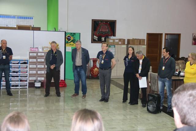 07/10/2019 Abertura Semanal na sede administrativa da Cr Diementz - Portão