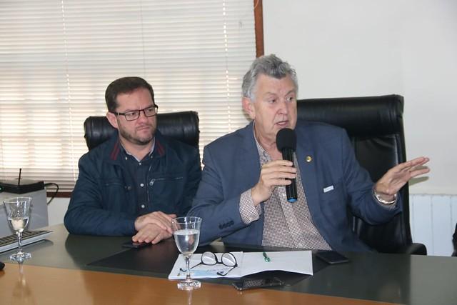 07/10/2019 Reunião Prefeitura de Gramado sobre Aeroporto Vila Oliva