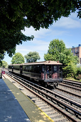 US NY NYC Subway - Parade of Trains - 1900s BMT Brooklyn Union Gate Cars (built 1903-1907)
