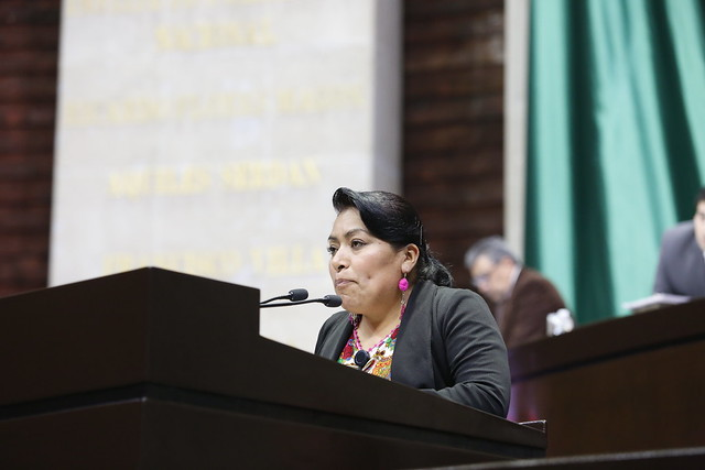22/11/2018 Intervención en tribuna de la Dip. Beatriz Dominga Pérez López