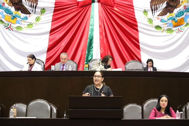 22/11/2018 Intervención en tribuna de la Dip. Claudia Tello Espinosa