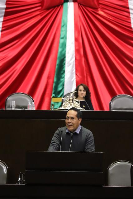 22/11/2018 Intervención en tribuna del Dip. Javier Manzano Salazar