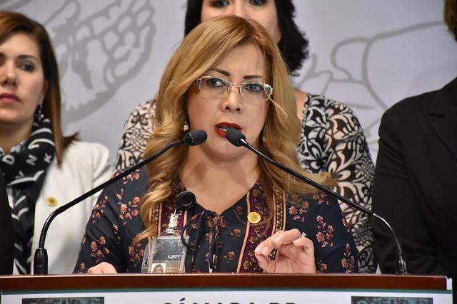27/11/2018 Conferencia de Prensa Comisión de Igualdad de Género