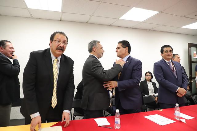27/11/2018 Reunión de Trabajo Diputados del Estado de Michoacán con el Gobernador Silvano Aureoles Conejo