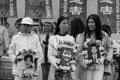 Pro Falun Dafa Demonstration