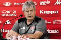 Coletiva 07/10/2019 - Geninho - Fotos: Letícia Martins/EC Vitória