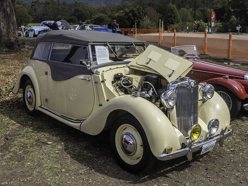 RARE - 1949 MG YT Tourer
