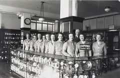 Group from the coupon department, Bushells Tea Factory, Sydney, 1936-1937
