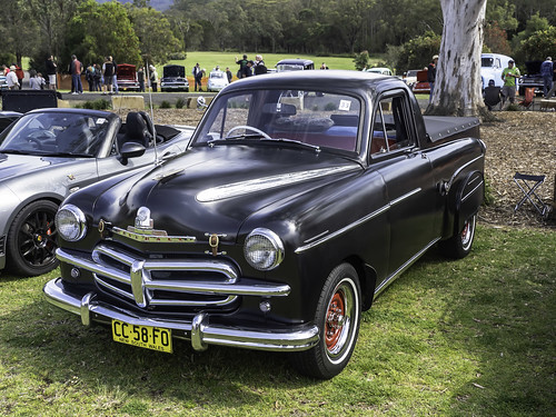 Holden bodied 1954 Vauxhall Velox Utility