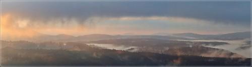 Morgen über der Böhmischen Schweiz