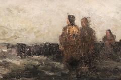 Louis Artan de Saint-Martin, 1837-1890, Le brise-lames, dét., 1869, musée royal des Beaux-Arts de Belgique