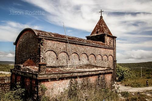 Colonial Era Church Atop Bokor Mountain, Cambodia, Southeast Asia