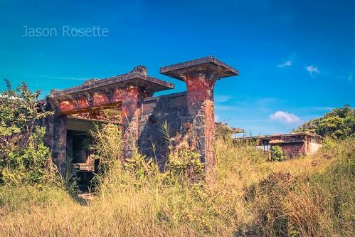 Abandoned Overgrown Villa Atop Bokor Mountain, Cambodia