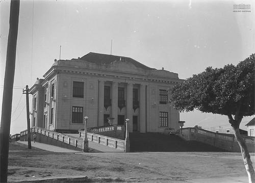 Palácio Rio Branco, sede do Governo do Acre, em 1940