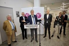 Inauguration de la Protection Maternelle et Infantile Pablo Picasso de Sartrouville