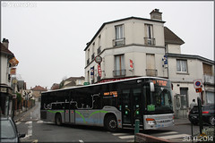 Setra S 415 NF – Stavo (Société de Transport Automobile de Versailles Ouest) (Groupe Lacroix) / STIF (Syndicat des Transports d'Île-de-France) / Plaine de Versailles n°S85 - Photo of Méry-sur-Oise