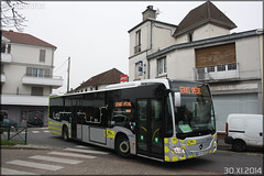 Mercedes-Benz Citaro C2 – Stivo (Société de Transport Interurbaine du Val d'Oise) / STIF (Syndicat des Transports d'Île-de-France) n°911 - Photo of Méry-sur-Oise