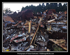 2019-09/29 - Fire Aftermath, Harvest Diner, Westbury, NY