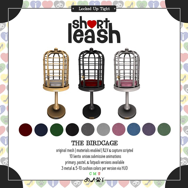 .:Short Leash:. The Birdcage ad store