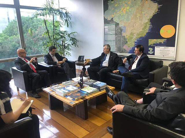 08/10/2019 Audiência Ministério do Meio Ambiente, concessões parques e florestas do RS