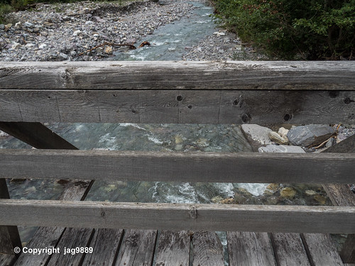 ALB300 Pedestrian Bridge over the Albula River, Bergün Filisur, Canton of Grisons, Switzerland
