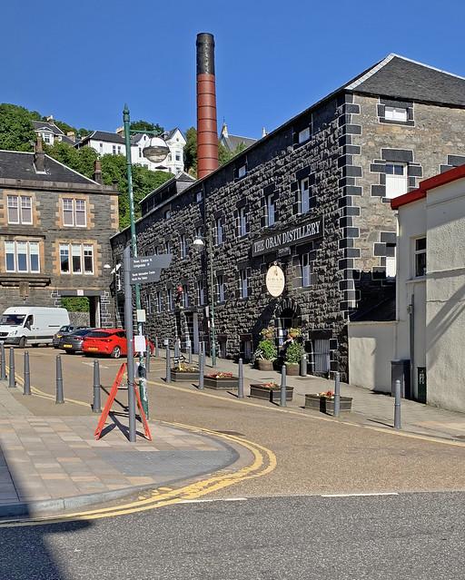 The Oban Distillery-Stafford Street-Oban Scotland UK 0065