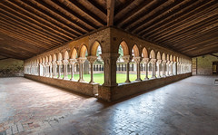 Cloisters of Moissac Abbey