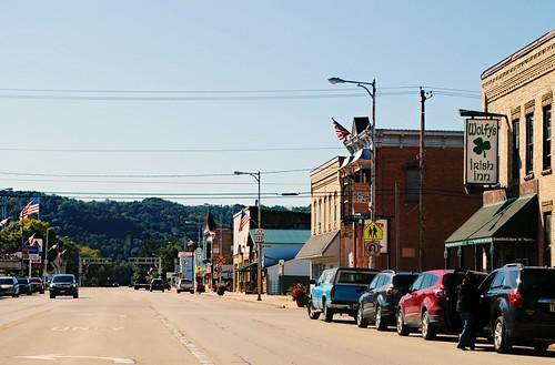 Downtown Muscoda, Wisconsin