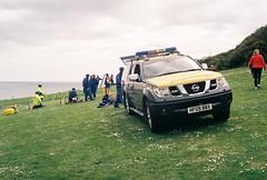 HM Coastguard Training - Cliff Rescue