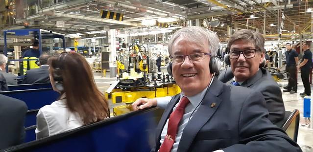 Visita del Rey a Opel España