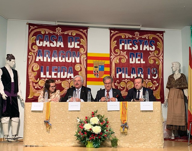 Pregón Fiestas del Pilar de la Casa de Aragón en Lleida
