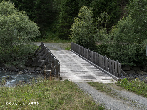 ALB310 Road Bridge over the Albula River, Bergün Filisur, Canton of Grisons, Switzerland