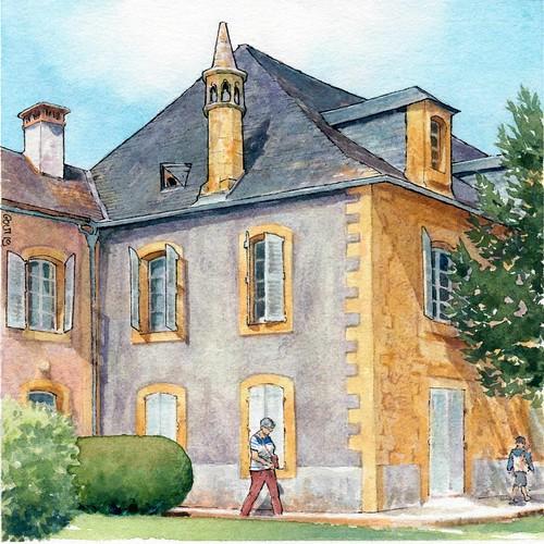 Montignac , place Tourny