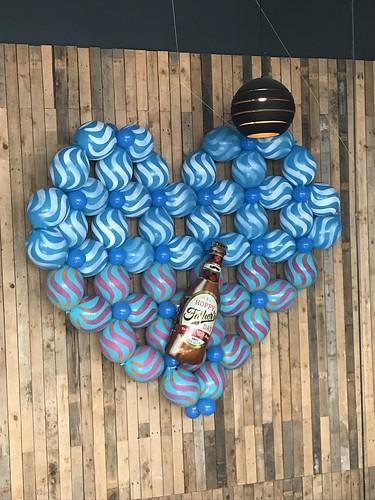 Ballonnenwand Vaderdag Watertuin Spijkenisse