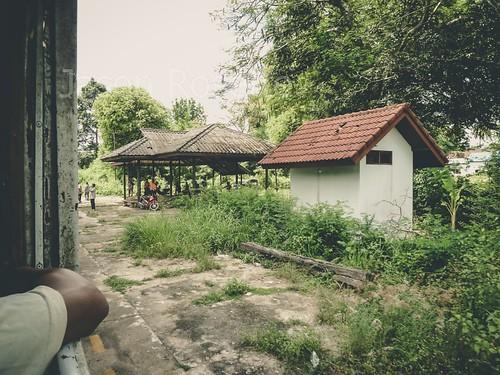 Rural Train Station, Thailand