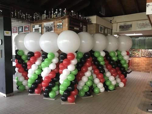 Ballonpilaar Breed Voetbalvereniging GHVV'13 Geervliet