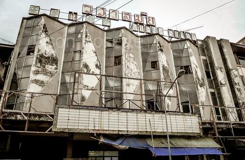 Defunct Cinema House in Vientiene, Laos