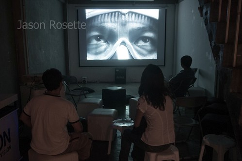 Still Frame from an Indie Movie Screening in Bangkok