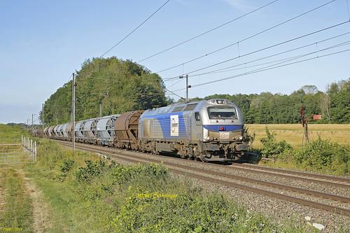 Euro 4035 Train 60748 Bantzenheim- Oulchy Breny à Valdieu Lutran