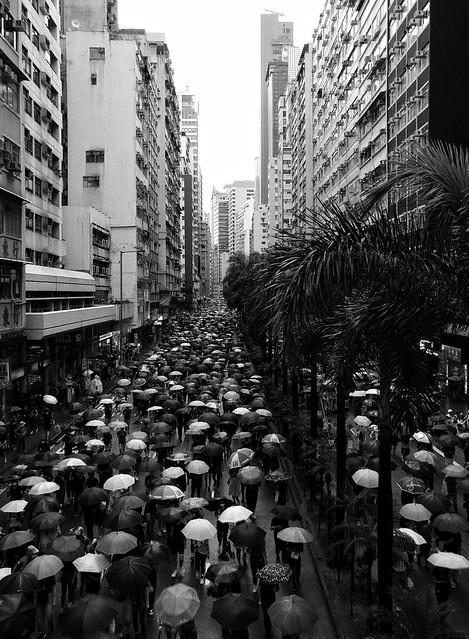 香港人真係好硬頸…… 191006