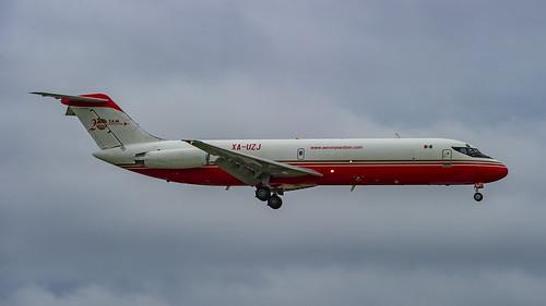 Aeronaves TSM McDonnell Douglas DC-9-33F XA-UZJ