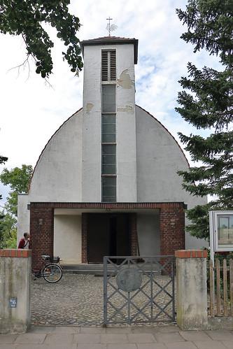 Tangerhütte, Kirche St. Elisabeth, Zollingerdach