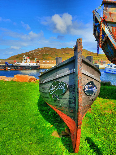 Cleggan Harbour, Cleggan Co Galway, Ireland