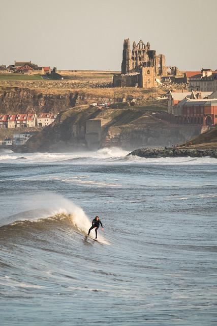Sandsend Surf Dude