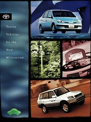 1998 Toyota Vehicles for the New MIllenium