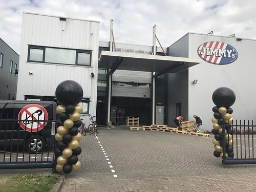 Ballonpilaar Breed Jimmys Popcorn Oud Beijerland