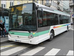 Heuliez Bus GX 327 – Flouret / STAS (Société de Transports de l'Agglomération Stéphanoise) n°837