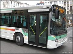 Heuliez Bus GX 327 – Flouret / STAS (Société de Transports de l'Agglomération Stéphanoise) n°837 - Photo of Saint-Jean-Bonnefonds