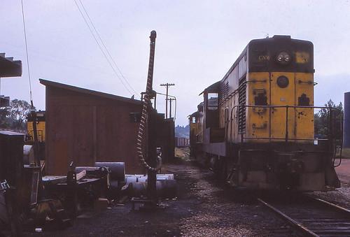 C&NW Wausau Engine Track
